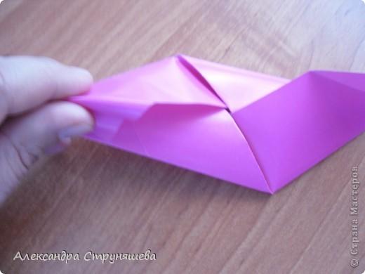 1.Приготовим 6 одинаковых квадратных листов бумаги. фото 13