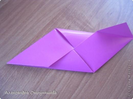 1.Приготовим 6 одинаковых квадратных листов бумаги. фото 14