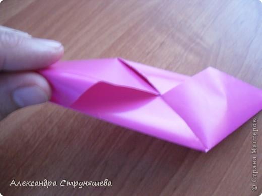1.Приготовим 6 одинаковых квадратных листов бумаги. фото 15