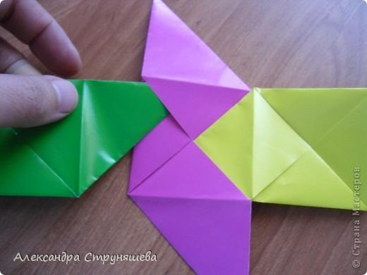 1.Приготовим 6 одинаковых квадратных листов бумаги. фото 22