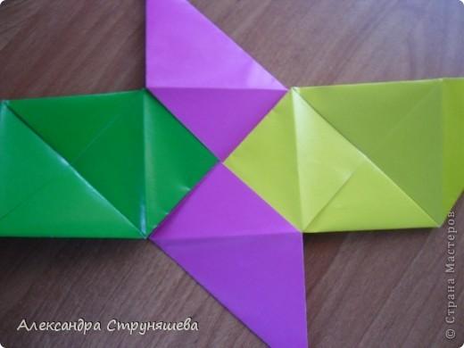 1.Приготовим 6 одинаковых квадратных листов бумаги. фото 23