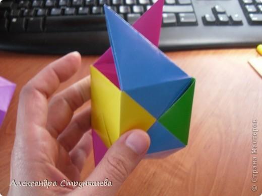 1.Приготовим 6 одинаковых квадратных листов бумаги. фото 28