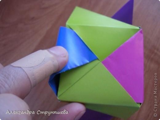 1.Приготовим 6 одинаковых квадратных листов бумаги. фото 35