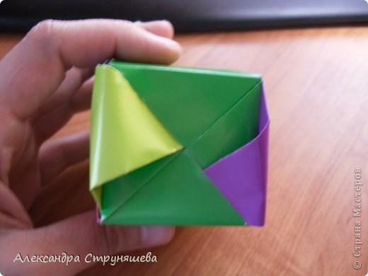 1.Приготовим 6 одинаковых квадратных листов бумаги. фото 36