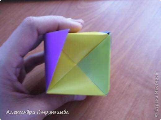 1.Приготовим 6 одинаковых квадратных листов бумаги. фото 37