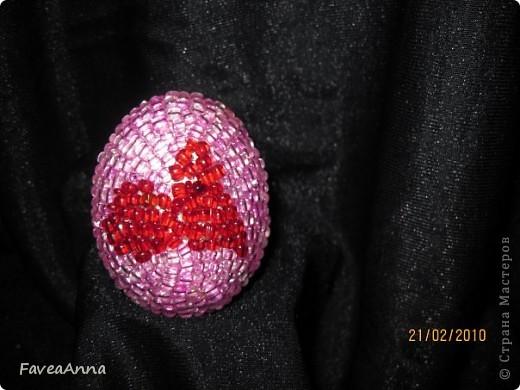Оплетенное страусиное яйцо фото 6