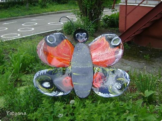 Бабочка на клумбу в детский садик. фото 2