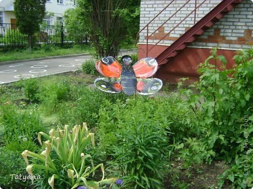 Бабочка на клумбу в детский садик. фото 1