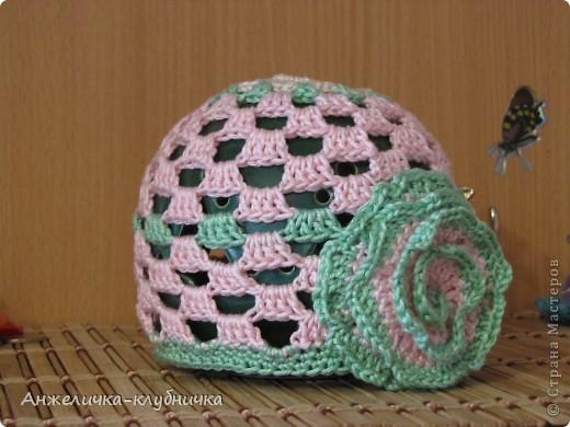 эта шапочка для крестницы фото 8