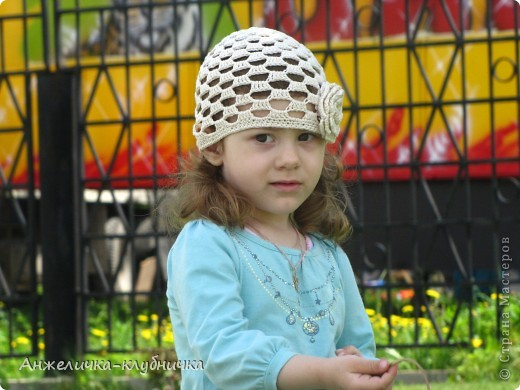 эта шапочка для крестницы фото 5
