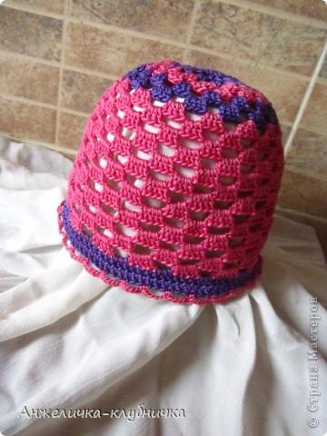эта шапочка для крестницы фото 1