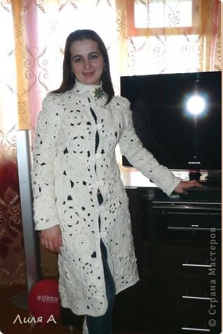 Пальто в ирландской технике фото 3