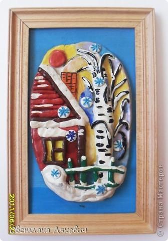 """Маленькая баночка,  декорированная в стиле """"прованс"""",  миниатюрная лепка. фото 2"""