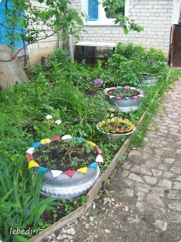 поделки для двора фото 3