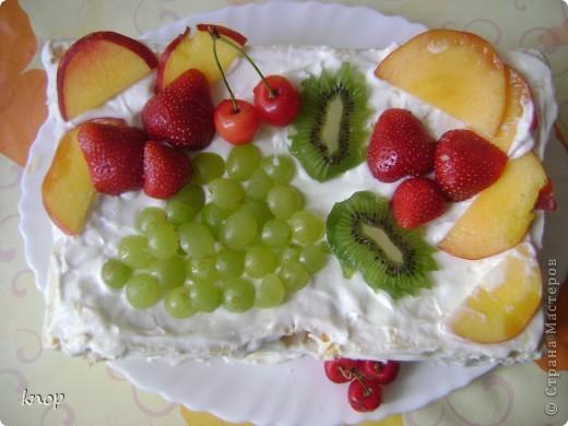 вот такой торт я сегодня сделала рано утром!!! спасибо огромное за рецепт,  Sunday! вот ссылка  http://stranamasterov.ru/node/203757?c=favorite    фото 1