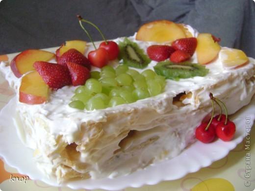 вот такой торт я сегодня сделала рано утром!!! спасибо огромное за рецепт,  Sunday! вот ссылка  http://stranamasterov.ru/node/203757?c=favorite    фото 2
