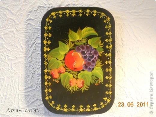 Это мои работы по росписи, работы сделаны больше 10 лет назад, но моя мама самая преданная поклонница сохранила из и на ее кухне они еще живут.  фото 2