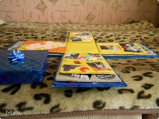 Эту коробочку мы все создали для нашей мамочки на юбилей!!!!! Коробка - раскладушка!!! фото 2