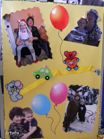 Эту коробочку мы все создали для нашей мамочки на юбилей!!!!! Коробка - раскладушка!!! фото 14