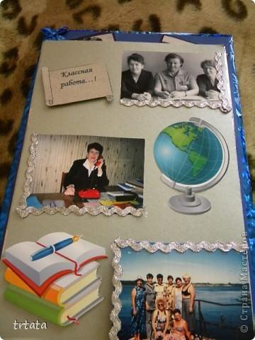 Эту коробочку мы все создали для нашей мамочки на юбилей!!!!! Коробка - раскладушка!!! фото 8