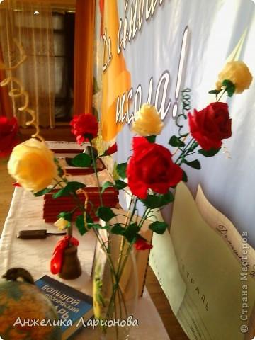 Розы на выпускном вечере фото 1