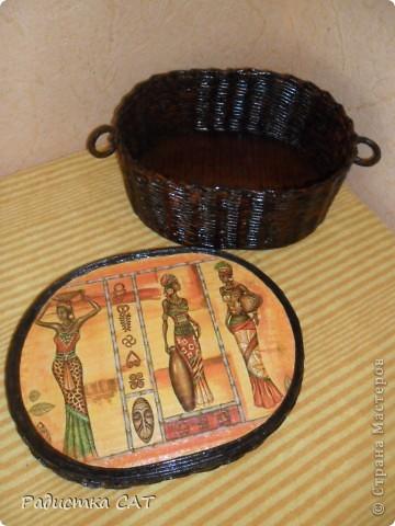 Давно хотела сделать наборчик с африканской салфеткой, но как всегда, для себя времени нет.  И всётаки я его сделала. фото 12