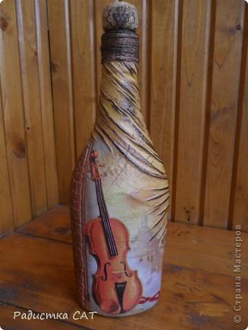 Шкатулка и бутылка фото 4