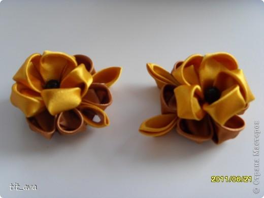 Резиночки из остатков золотых ленточек фото 2
