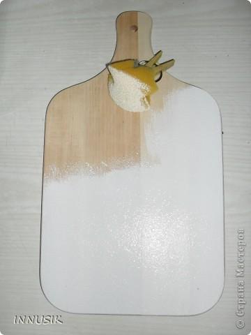 Не знаю краше ангельских цветов,  Которые зовутся красным маком ...  Нежнее не встречала лепестков -  Блестящих, как покрытых лаком...   Вот такую досочку мне  захотелось сделать летом))). Ниже даю описание своей работы. фото 2