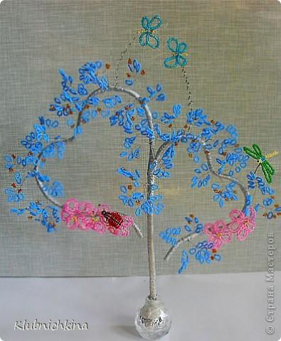 вот такое летнее романтическое деревце у меня получилось))) фото 1