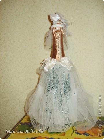 Вот такие бутылочки мы делали на свадьбу. фото 8