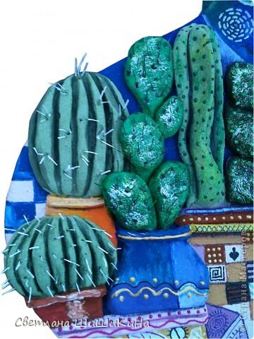 По рисунку художника Оксаны Заика. Кактусы объемные. фото 4
