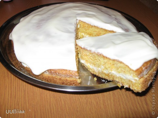 Очень вкусный морковный пирог получился. Пекла два раза за воскресенье. Все съели. фото 7