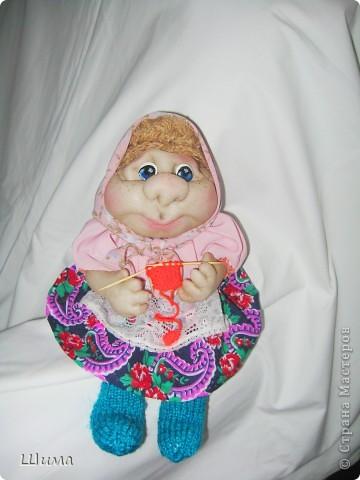 одна из первых моих куколок. фото 2