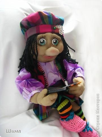 одна из первых моих куколок. фото 1