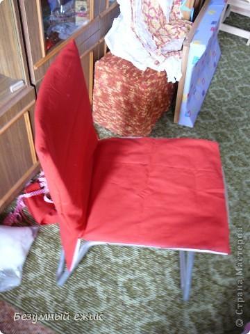 Мастер-класс Шитьё Чехлы на стулья Ткань фото 6.