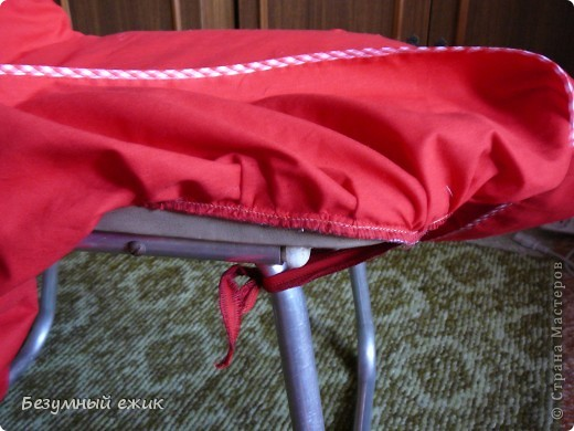 Мастер-класс Шитьё Чехлы на стулья Ткань фото 10.