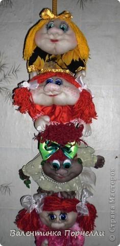 Наваяла куколок.Одна из них пойдёт на подарок зятю.Не знаю какую выбрать? фото 10