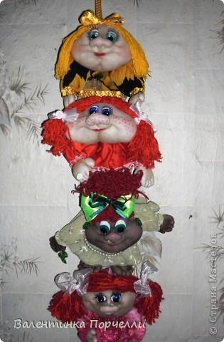 Наваяла куколок.Одна из них пойдёт на подарок зятю.Не знаю какую выбрать? фото 11