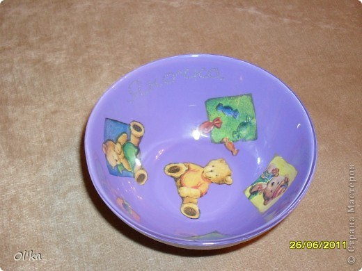 Тарелочка для Малышки фото 2