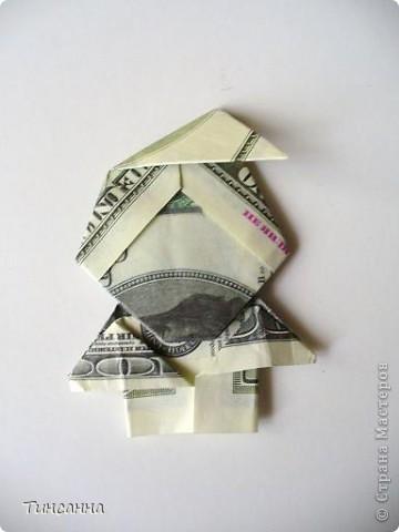 Манигами (Moneygami от анг. money- деньги) - это разновидность оригами, в котором модели выполняются из денежных купюр.  Разные бабочки. фото 4