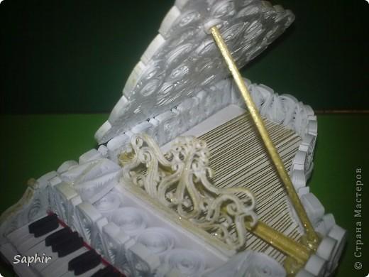 Давно уже, глядя на рояли в Стране, собиралась сделать свой. Вот что у меня получилось     фото 7