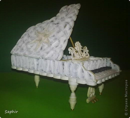 Давно уже, глядя на рояли в Стране, собиралась сделать свой. Вот что у меня получилось     фото 8