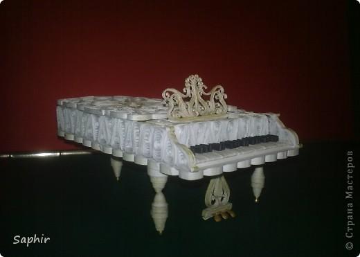 Давно уже, глядя на рояли в Стране, собиралась сделать свой. Вот что у меня получилось     фото 3