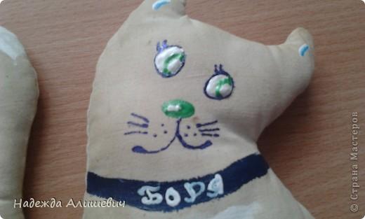 Буквально несколько минут назад сделала своего кофеёного котика, Борьку)) фото 2