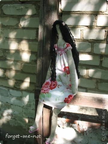 Моя первая (надеюсь, не последняя) кукла Тильда фото 2