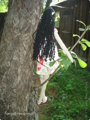 Моя первая (надеюсь, не последняя) кукла Тильда фото 3