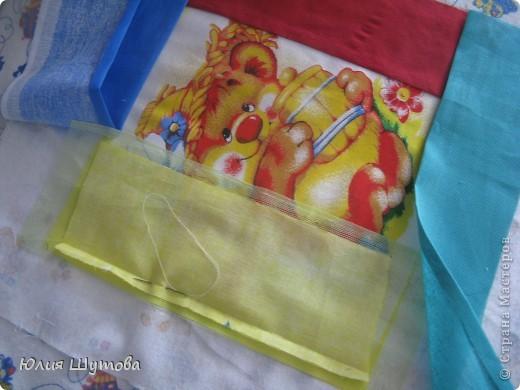 Детская подушка с развивающими элементами.Сейчас расскажу,как её шила... фото 3