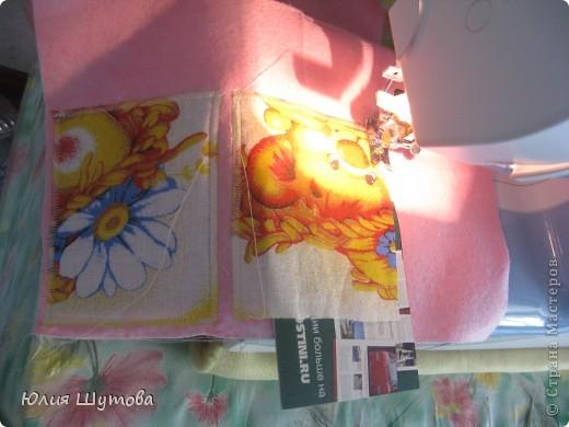 Детская подушка с развивающими элементами.Сейчас расскажу,как её шила... фото 4