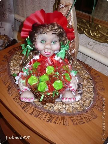 Куклы- конфетницы фото 1